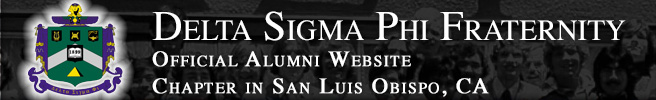 Delta Sigma Phi, Alpha Pi Chapter Alumni Site: Home
